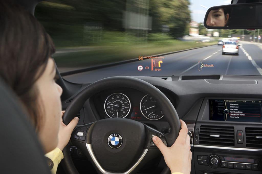 HUD couleurs par BMW
