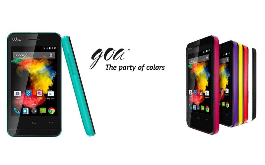 Les différentes couleurs du Wiko Goa