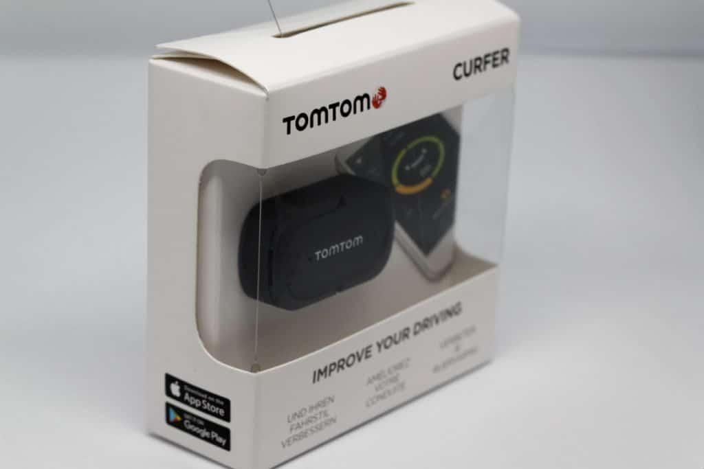 Boîte du TomTom Curfer