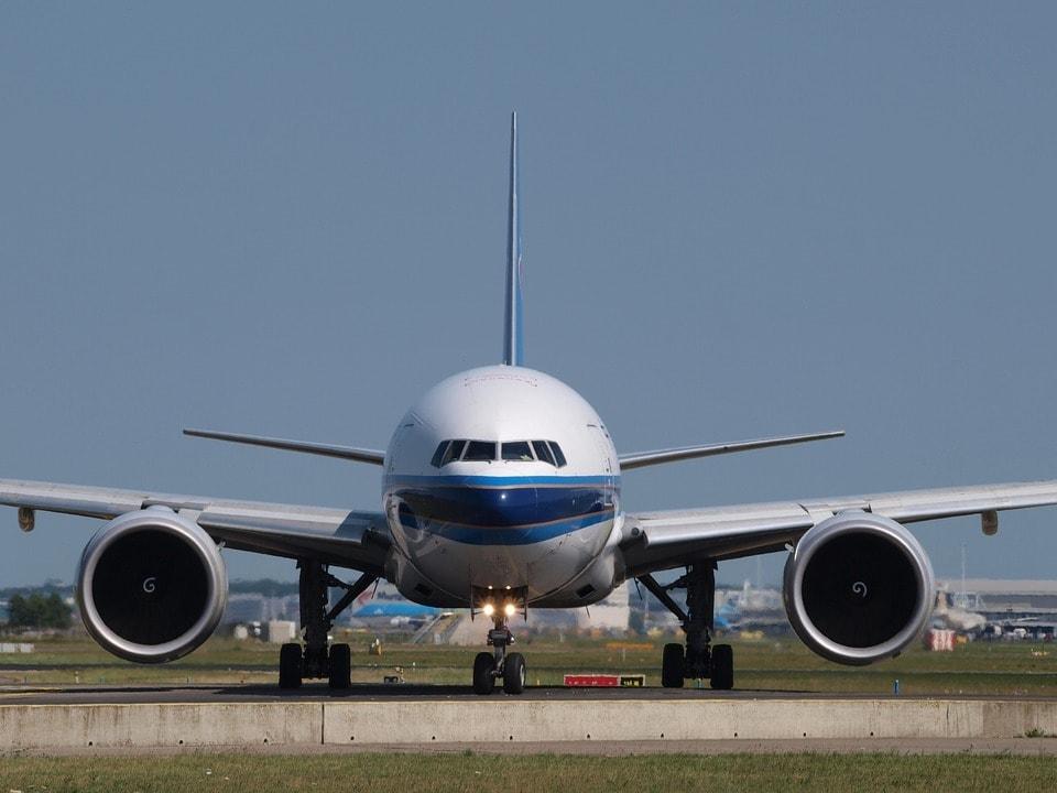 Un Boeing 777 de la compagnie chinoise China Airlines.
