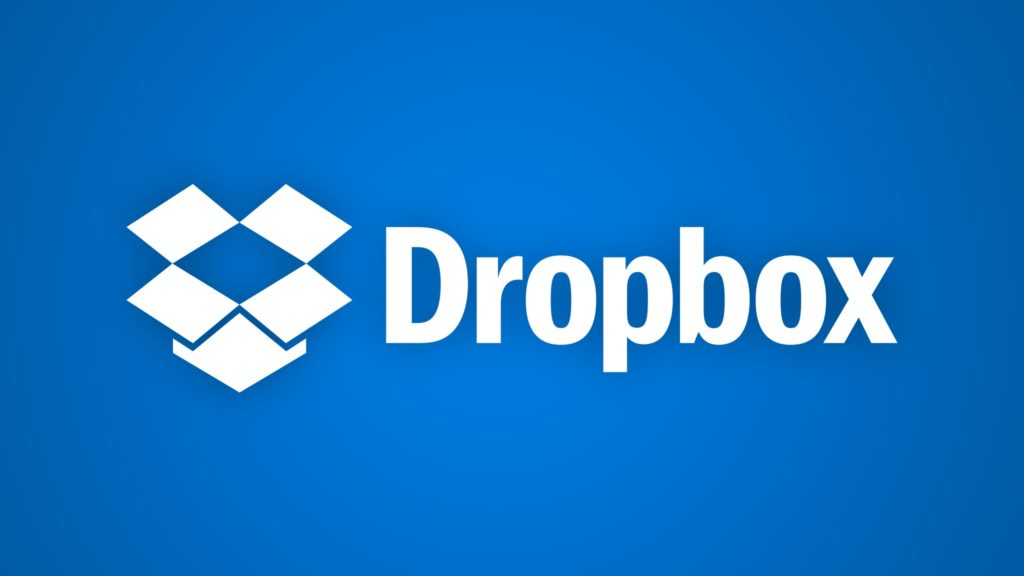 Logo du service de cloud Dropbox