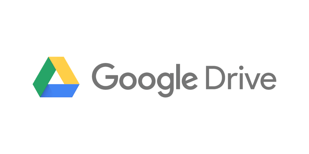 Logo du service de cloud Google Drive