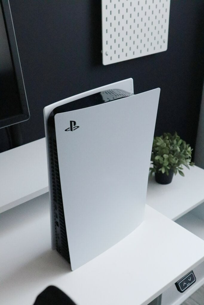 La toute nouvelle PS5.