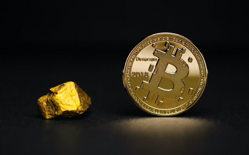 Bitcoin et or.